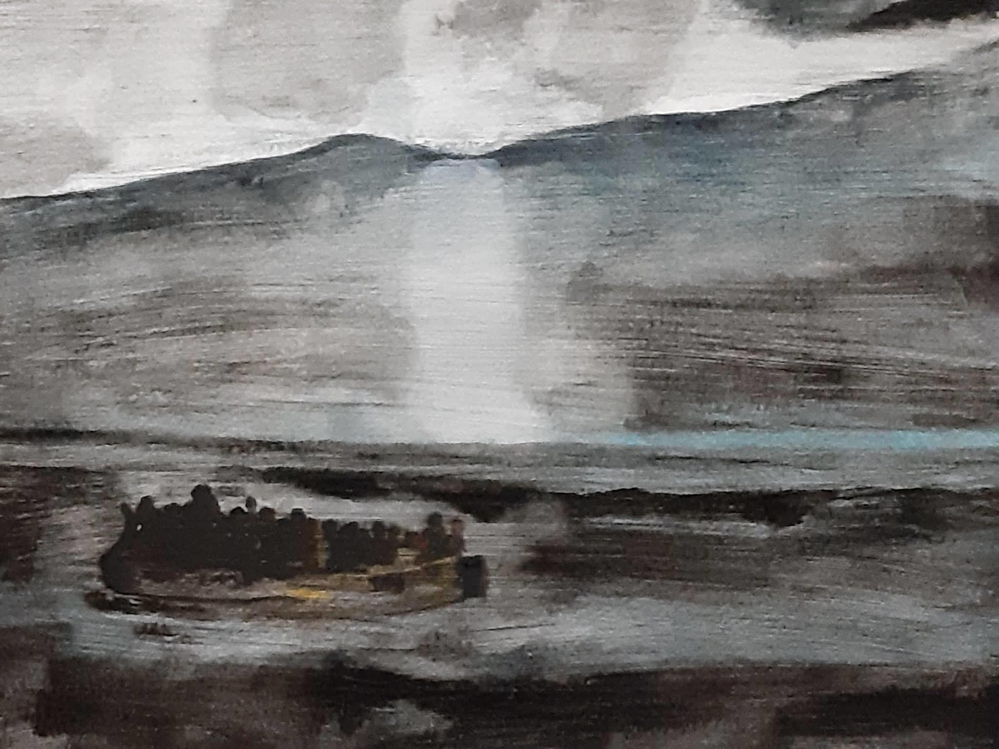 buio acquerello su cartoncino 24 x 32 cm 2019